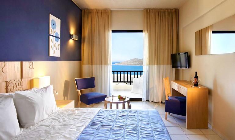 SENTIDO Elounda Blu double room with sea view