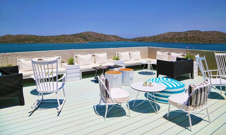 SENTIDO Elounda Blu Eblu bar terrace