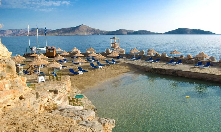 Sensimar Elounda Village Resort & Spa beach