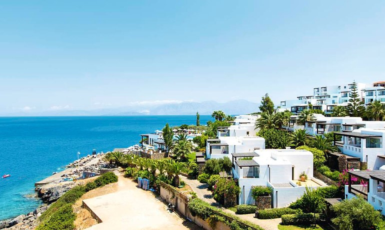 Sensimar Elounda Village Resort & Spa beach and bungalows