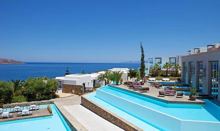 Sensimar Elounda Village Resort & Spa main pool view