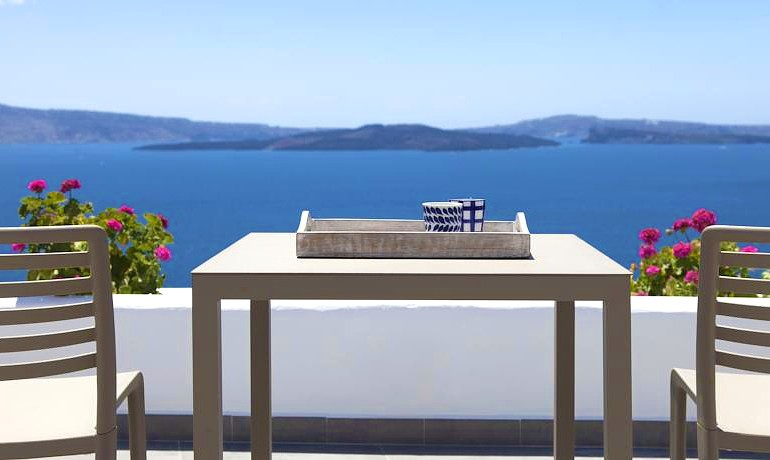 Santorini Secret Suites & Spa Aegean sea view