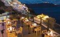 Santorini Secret Suites & Spa Oozora restaurant with sea view