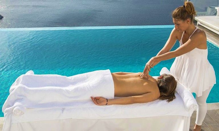 Santorini Secret Suites & Spa wellness zone