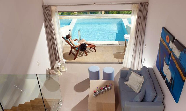 Castello Boutique Resort & Spa junior suite with private pool