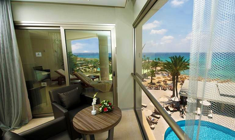 Adams Beach Hotel Deluxe Wing room terrace