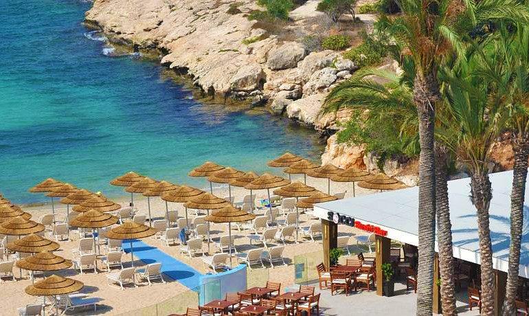 Adams Beach Hotel Deluxe Wing sandy beach