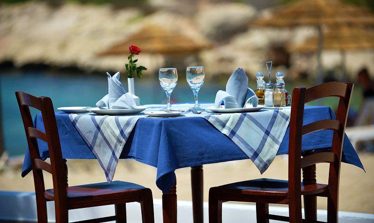 Adams Beach Hotel Deluxe Wing Vala beach tavern