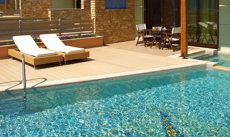 Alexandra Golden Boutique Hotel Grand suite for grant pleasure with private pool