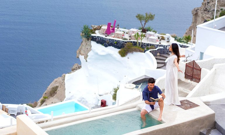 Andronis Luxury Suites general view