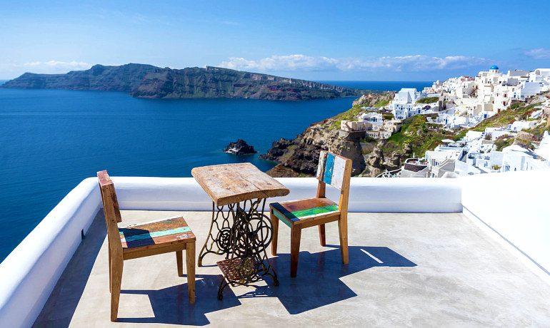 Andronis Luxury Suites Sunset villa Socrates terrace