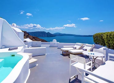 Canaves Oia Hotel Adults Only in Santorini, Greece