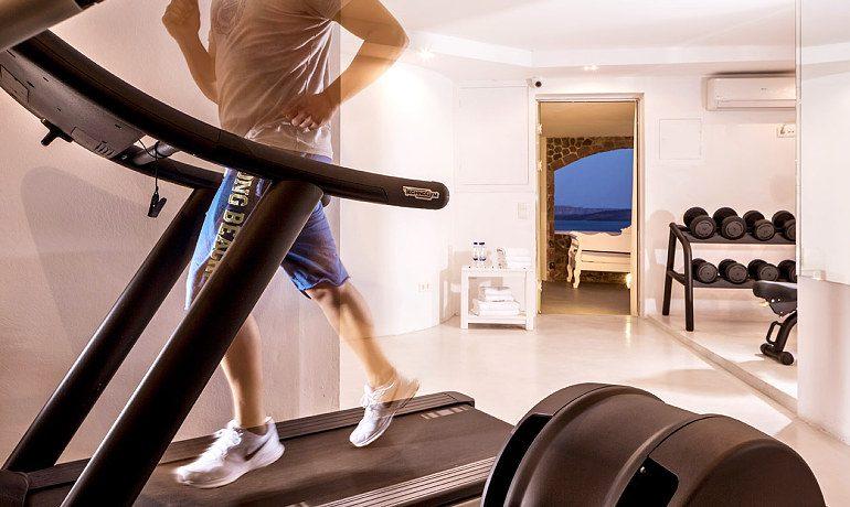 Canaves Oia Hotel fitness center