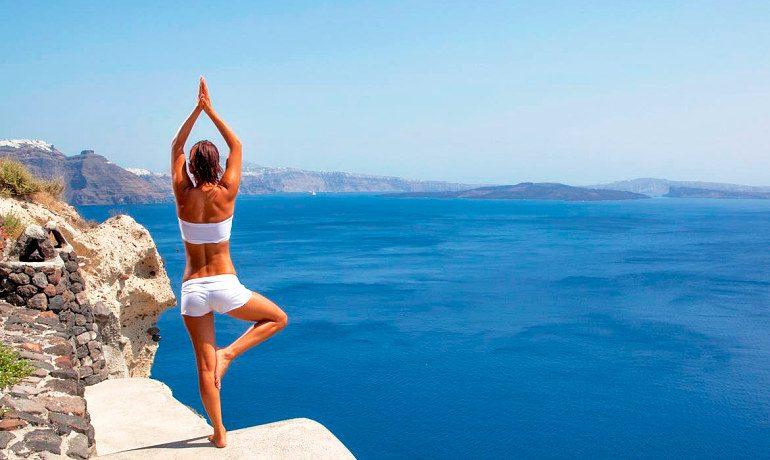 Canaves Oia Hotel yoga