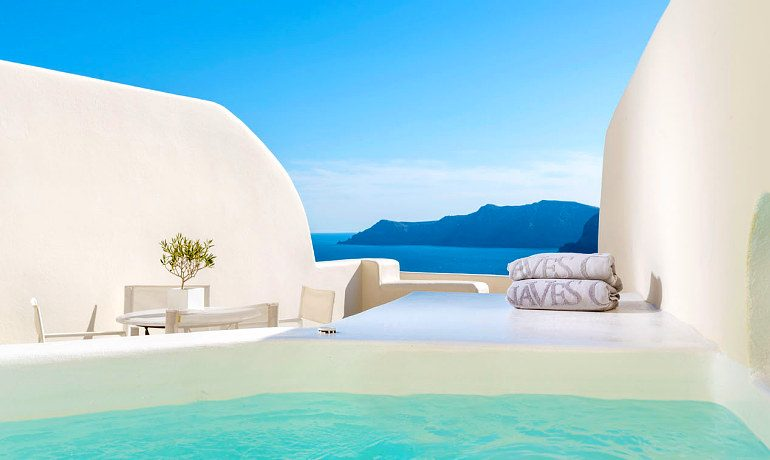 Canaves Oia Suites Grande pool