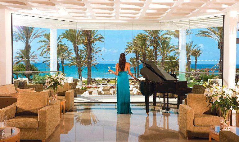 Constantinou Bros Asimina Suites Hotel Piano bar