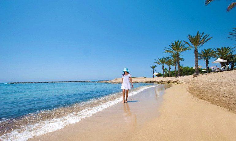 Constantinou Bros Asimina Suites Hotel sandy beach