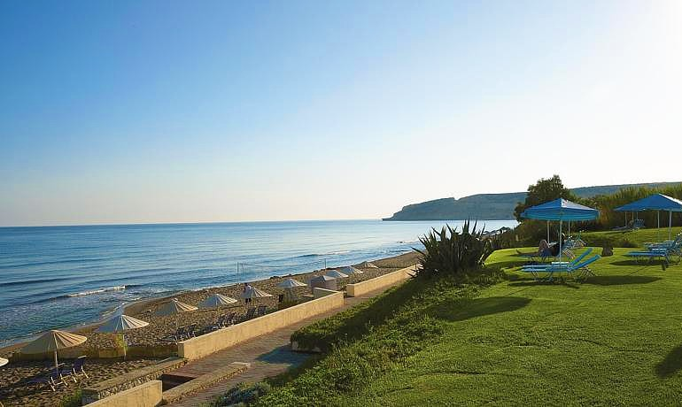Creta Royal Hotel sandy beach