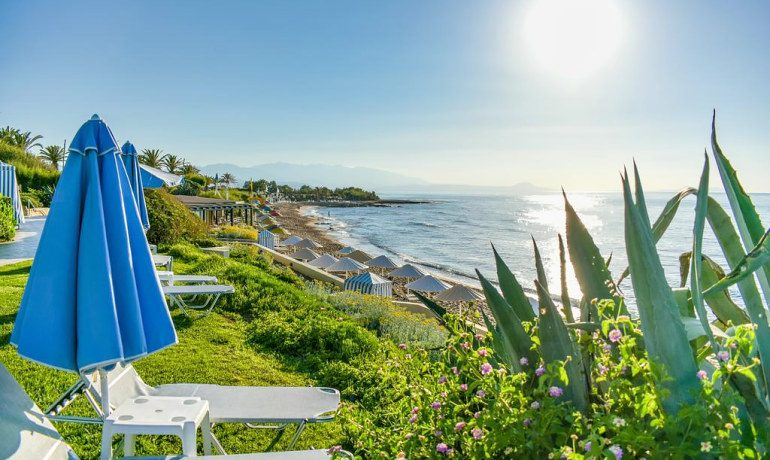 Creta Royal hotel beach view