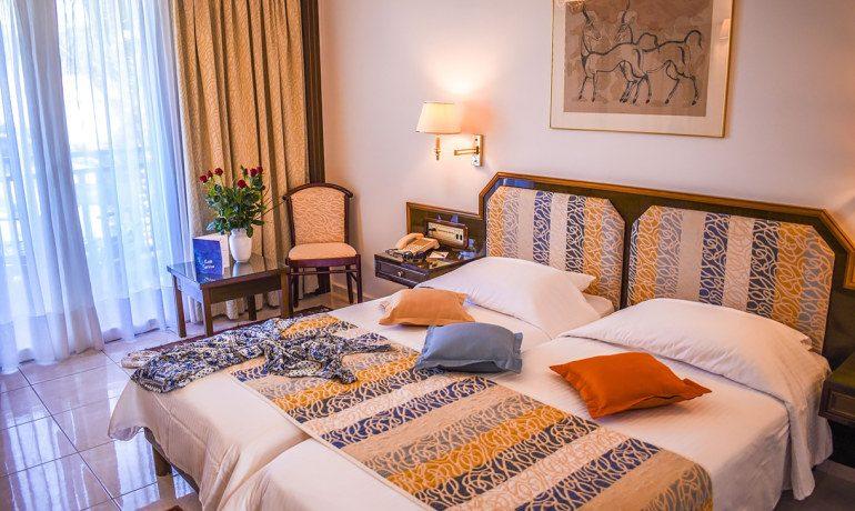 Creta Royal hotel double room garden view