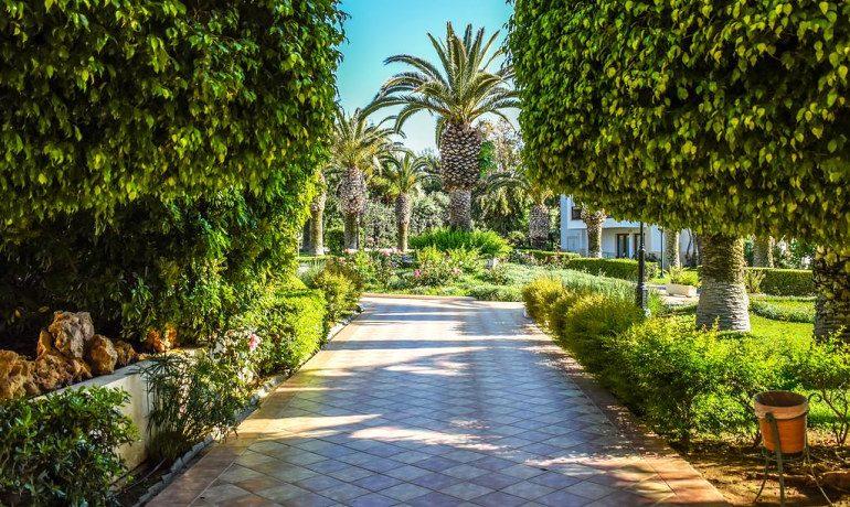 Creta Royal hotel gardens