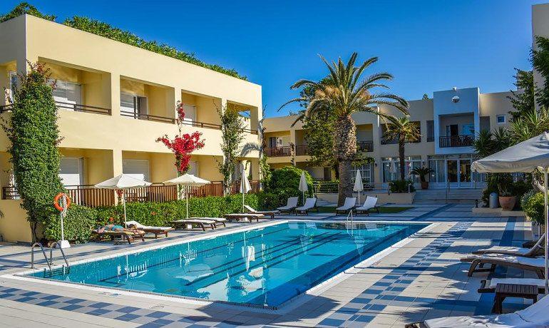 Creta Royal hotel pool area view