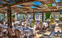 Creta Royal hotel restaurant tables