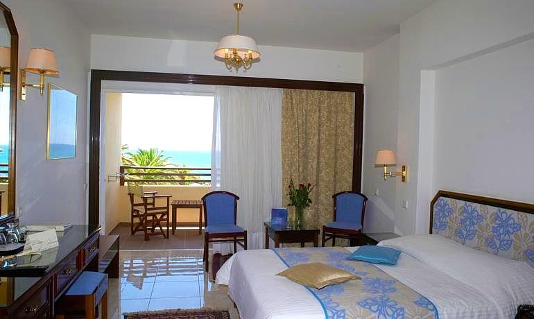 Creta Royal Hotel room with balcony and sea view