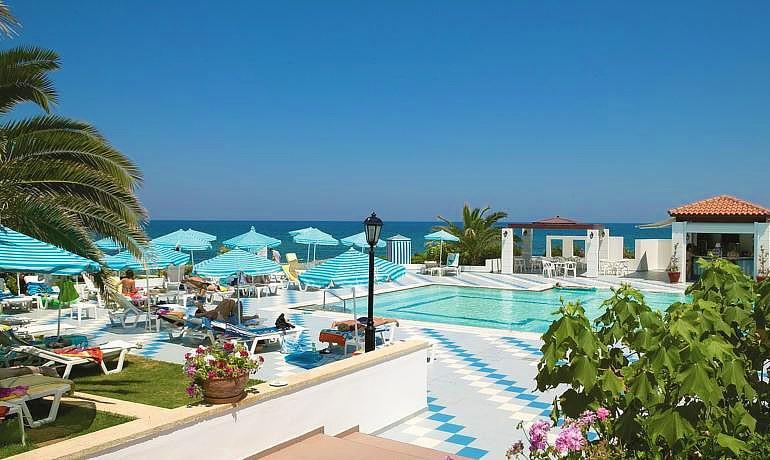Creta Royal Hotel sea and pool view