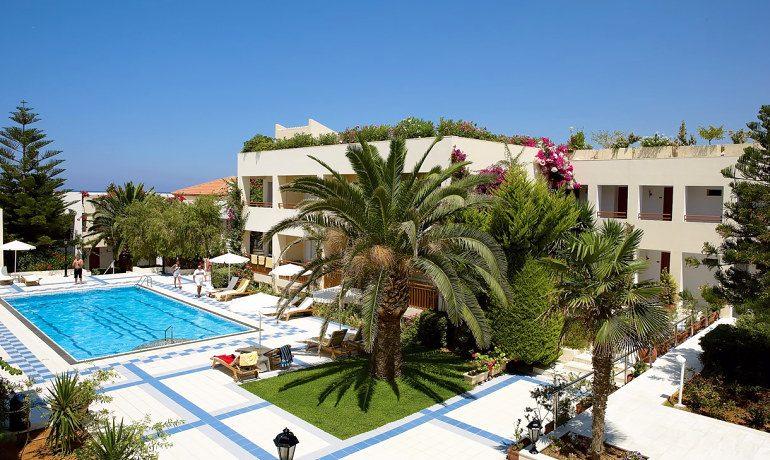 Creta Royal hotel top pool view