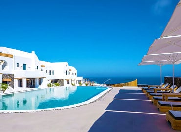 Elea Resort Adults Only hotel in Santorini, Greece
