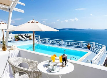 La Perla Villas & Suites Adults Only hotel in Santorini, Greece