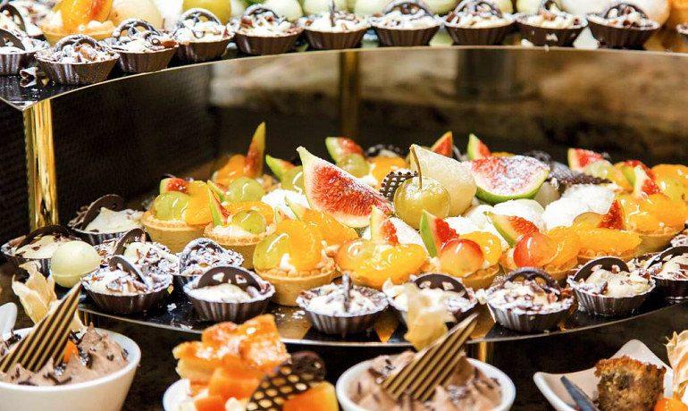 Atlantica Bay Hotel desserts