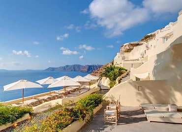 Mystique Adults Only hotel in Santorini, Greece