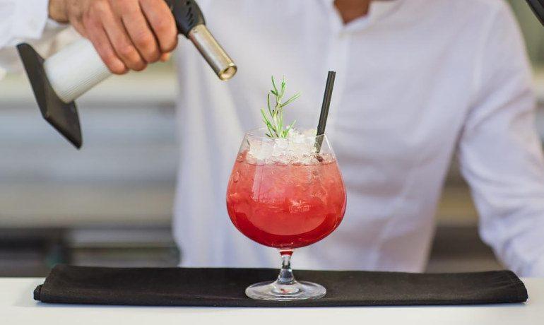 Napa Plaza Hotel cocktails