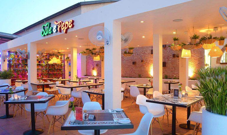 Napa Plaza Hotel sale e pepe italian restaurant