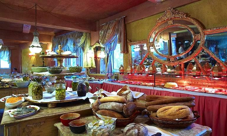 Orpheas Resort Hotel food selection