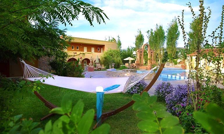 Orpheas Resort Hotel hammock