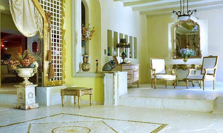 Orpheas Resort Hotel lobby area