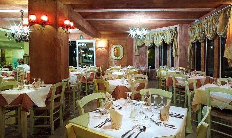 Orpheas Resort Hotel restaurant