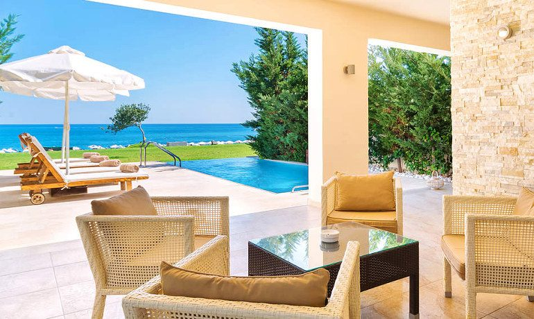 Sentido Port Royal Villas & Spa beachfront suite with private pool