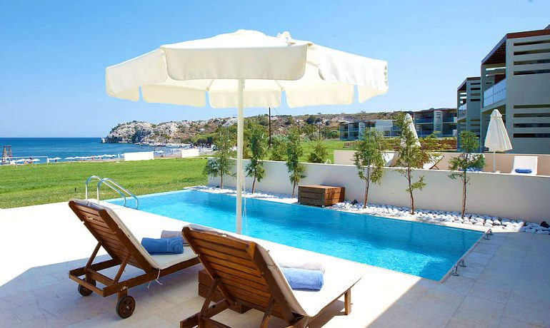 Sentido Port Royal Villas & Spa private pool with sea view