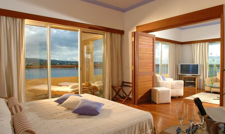 Sentido Thalassa Coral Bay one bedroom suite with sea view