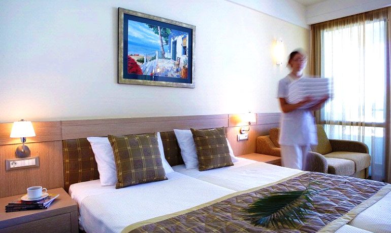 Thalassa Beach Resort & Spa double room