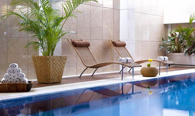 Thalassa Beach Resort & Spa indoor pool