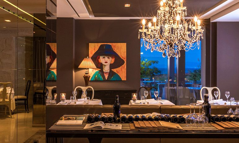 Aqua Blu Boutique Hotel & SPA Cuvee restaurant