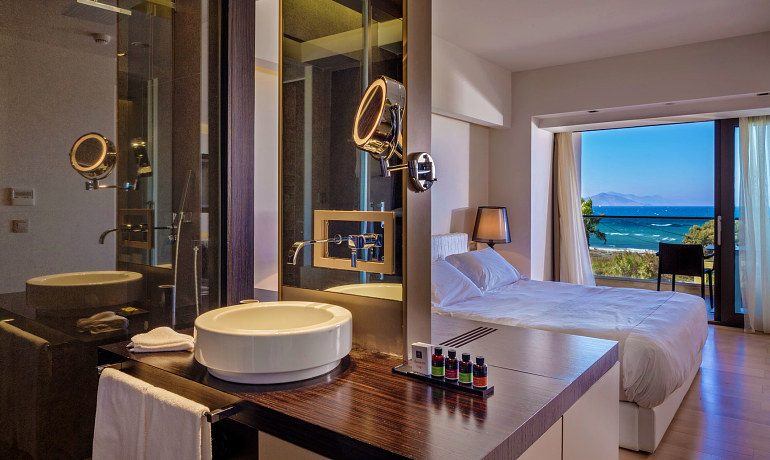 Aqua Blu Boutique Hotel & SPA double suite with sea view