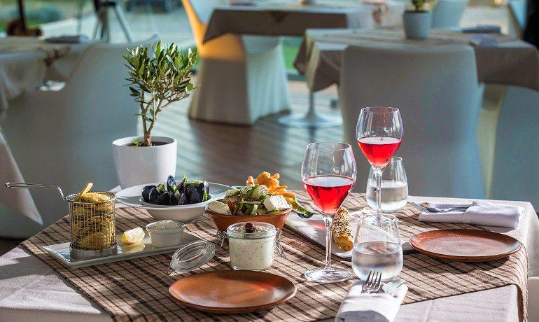 Aqua Blu Boutique Hotel & SPA lunch