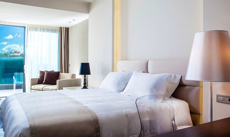Aqua Blu Boutique Hotel & SPA pool experience suite