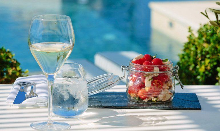 Aqua Blu Boutique Hotel & SPA salads
